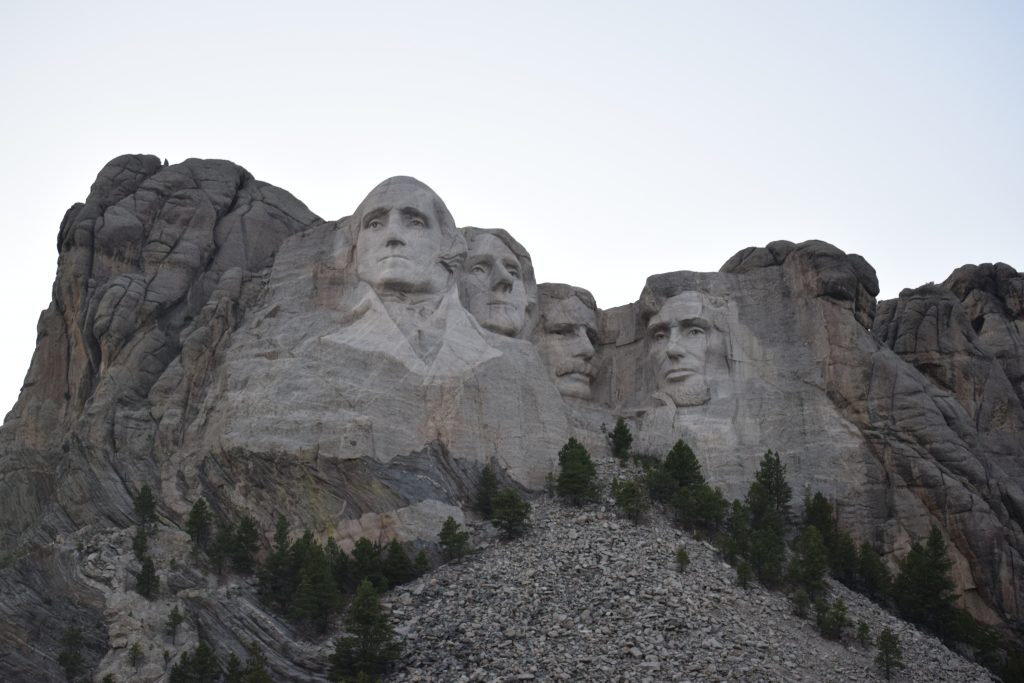 Mount Rushmore can probably be considered South Dakotau0027s most popular tourist attraction. The creator of Mount Rushmore Sculptor Gutzon Borglum selected ...  sc 1 st  Exploring with Beth & Lighting Ceremony at Mount Rushmore | Exploring with Beth azcodes.com